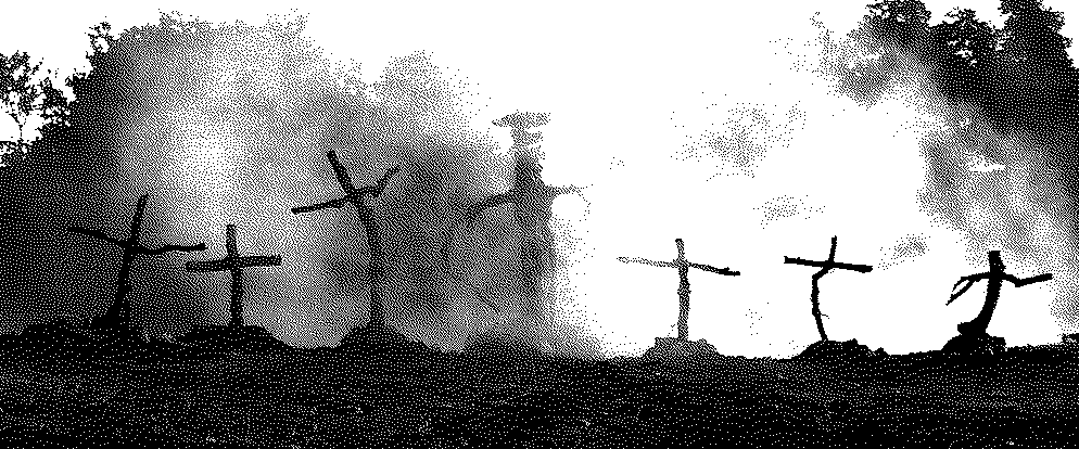 Twisted crucifixes from The Lords of Salem